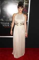 KEISHA CASTLE-HUGHES at Thank You for Your Service Premiere in LLos Angeles 10/23/2017