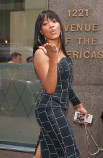 KEKE PALMER Arrives at SiriusXM Radio in New York 10/10/2017