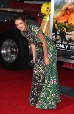 KELEIGH SPERRY at Only the Brave Premiere in Westwood 10/08/2017