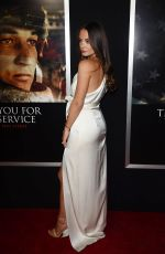 KELEIGH SPERRY at Thank You for Your Service Premiere in LLos Angeles 10/23/2017