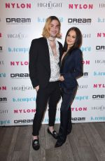 KELLI BERGLUND at Nylon's It Girl Party in Hollywood 10/12/2017