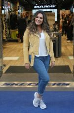 KELLY BROOK at a Skechers Photocall in Dublin 10/05/2017