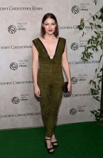 KELLY MACDONALD at Goodbye Christopher Robin Premiere in New York 10/11/2017