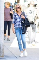 KELLY RIPA in Jeans Out in New York 10/20/2017