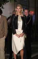 KELLY ROHRBACH at Overnight Set of Untitled Woody Allen Movie in New York 10/20/2017