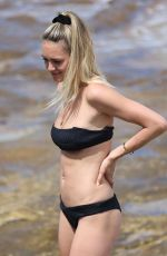 KENDAL LEE SCHULER in Bikini at Bondi Beach in Sydney 10/28/2017