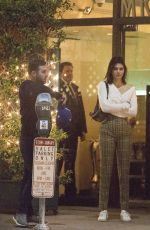 KENDALL JENNER and Blake Griffin Leaves Mr. Chow Restaurant in Beverly Hills 10/30/2017
