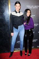 KENDALL JENNER and KOURTNEY KARDASHIAN  at What Goes Around Comes Around One Year Anniversary in Los Angeles 10/11/2017