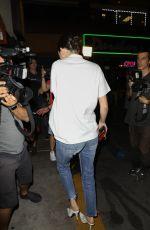 KENDALL JENNER Arrives at Kim Kardashians 37th Birthday Dinner in Los Feliz 10/26/2017