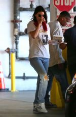 KENDALL JENNER Out for Lunch in Los Angeles 10/02/2017