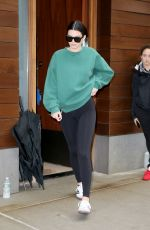 KENDALL JENNER Out in New York 10/24/2017