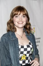 KENNEDY SLOCUM at 28th Annual A Time for Heroes Family Festival in Culver City 10/29/2017