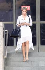 KENNEDY SUMMERS Leaves Court in Los Angeles 10/13/2017