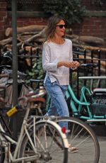 KERI RUSSELL Out in New York 09/29/2017