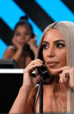 KIM KARDASHIAN at One Coice: Somos Live! a Concert for Disaster Relief in Los Angeles 10/14/2017