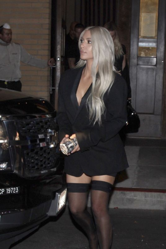 KIM KARDASHIAN Night Out in San Francisco 10/14/2017