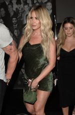 KIM ZOLCIAK and BRIELLE BIERMANN at Catch LA in West Hollywood 10/10/2017