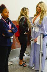 KIM ZOLCIAK at Airport Security in Atlanta 10/18/2017