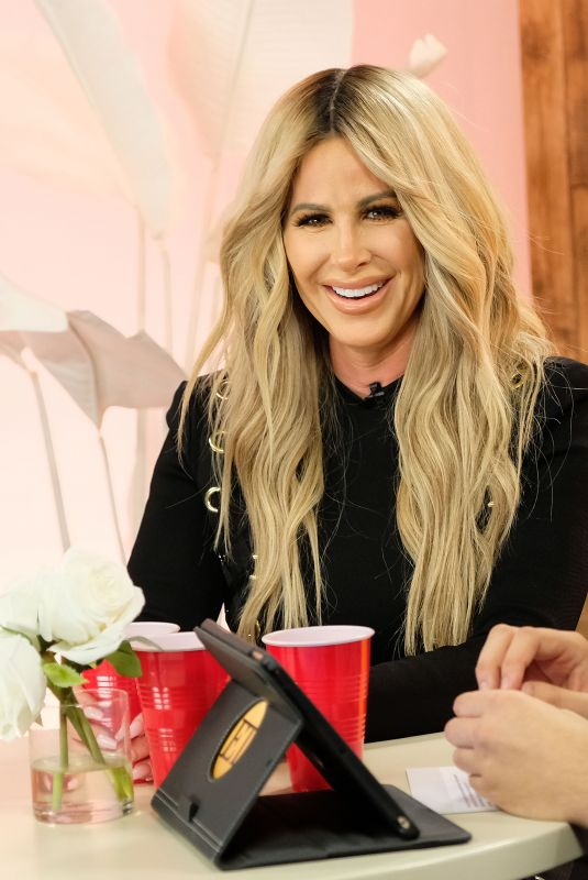 KIM ZOLCIAK at Facebook Live to Discuss Her New Season of Rhoa and Nene Leakes in Los Angeles 10/10/2017