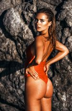 KIMBERLEY GARNE in Swimsuit on the Set of a Photoshoot in Ibiza 10/15/2017