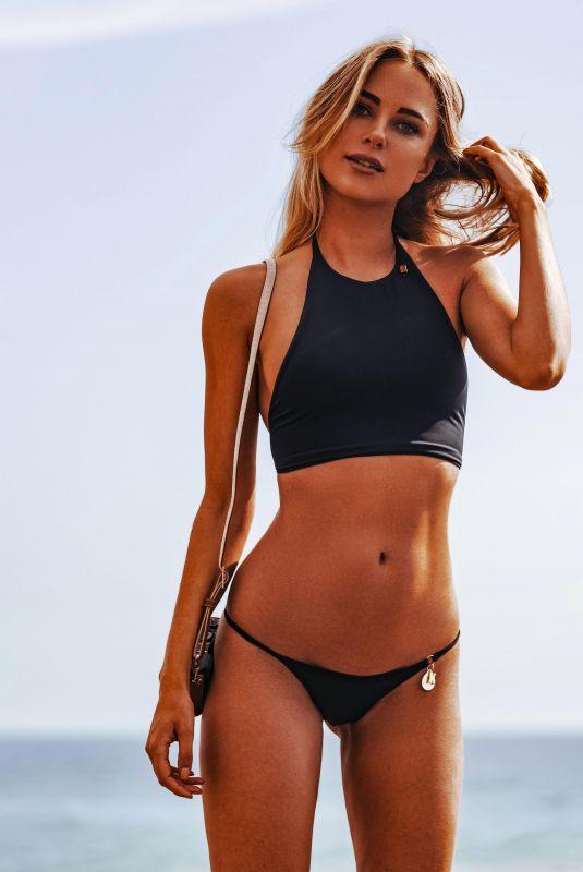 KIMBERLEY GARNER in Bikini Modelling Her Latest Swimwear Collection in Ibiza 10/08/2017