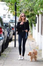 KIMBERLEY GARNER Out and About in Chelsea 10/12/2017