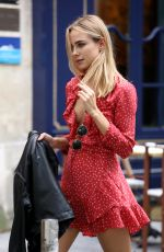 KIMBERLEY GARNER Out and About in Paris 10/26/2017