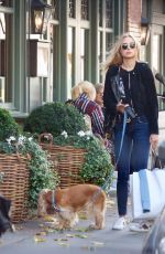 KIMBERLEY GARNER Out with Her Dog in London 10/21/2017