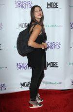 KIRA KOSARIN at School Spirits Premiere in Los Angeles 10/06/2017