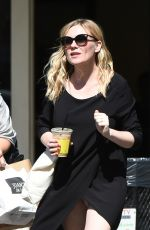 KIRSTEN DUNST Out and About in Los Angeles 10/10/2017