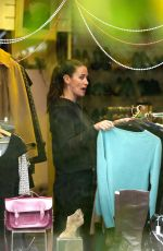 KIRSTY GALLACHER Working at a Charity Shop in London 05/10/2017