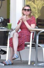 KIRTSEN DUNST Out for Lunch in Studio City 10/26/2017