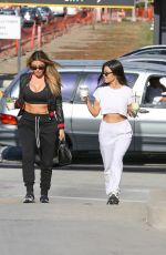 KOURTNEY KARDASHIAN and LARSA PIPPEN at Alfred