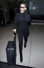 KOURTNEY KARDASHIAN at LAX Airport in Los Angeles 10/01/2017