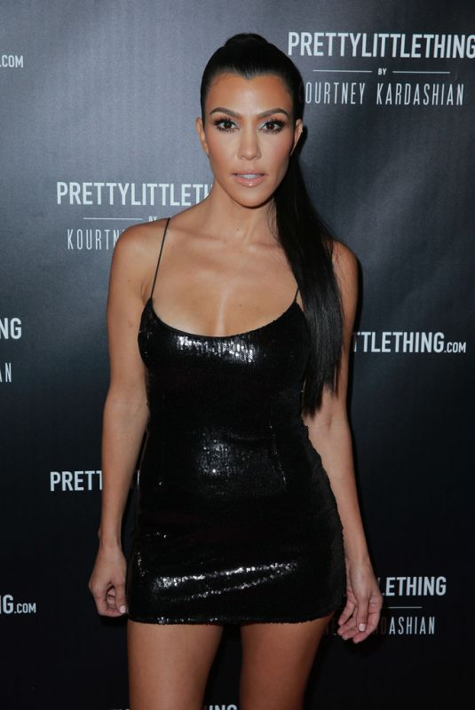 KOURTNEY KARDASHIAN at Prettylittlething by Kourtney Kardashian Launch in Los Angeles 10/25/2017