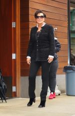 KRIS JENNER Out and About in New York 10/24/2017