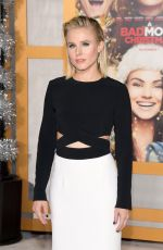 KRISTEN BELL at A Bad Moms Christmas Premiere in Westwood 10/30/2017