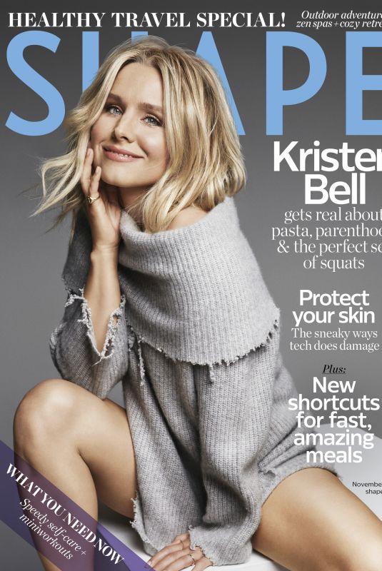 KRISTEN BELL for Shape Magazine, November 2017