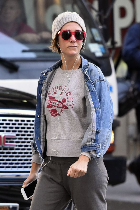 KRISTEN WIIG Heading to a Gym in New York 10/02/2017