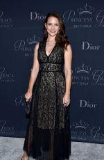 KRISTIN DAVIS at Princess Grace Awards Gala in Hollywood 10/24/2017