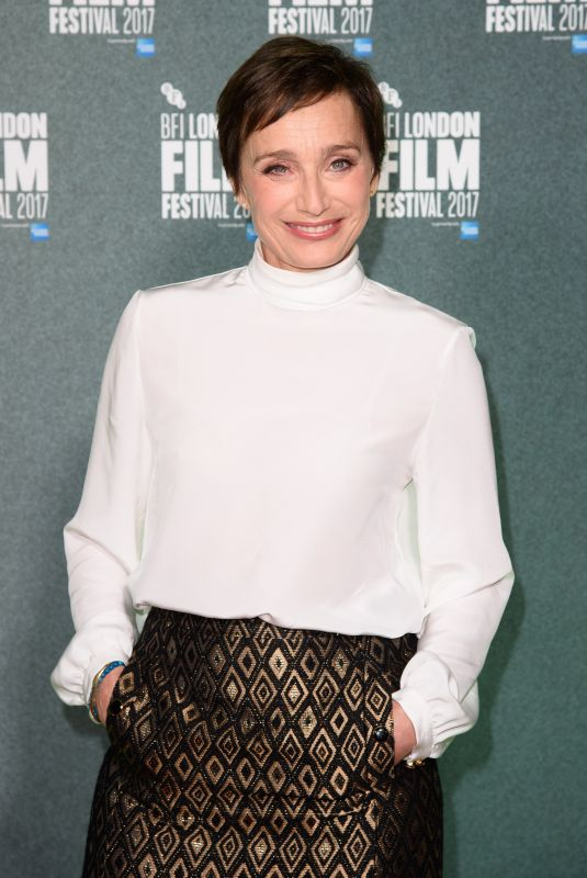 KRISTIN SCOTT THOMAS at The Party Premiere at BFI London Film Festival 10/10/2017