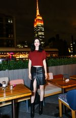 KRYSTEN RITTER at Moxy x Made: Moxy Times Square's Coming Out Party in New York 10/25/2017