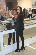 KYLE RICHARDS Shopping at Kyle in Beverly Hills 10/04/2017