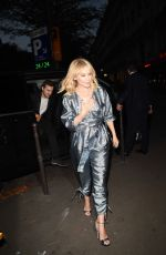 KYLIE MINOGUE Out for Dinner at Marius Et Janette in Paris 10/02/2017
