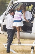 KYLY CLARKE and ERIN HOLLAND at Helipad in Sydney airport 04.10.2017 x18 | hqcelebcorner