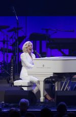 LADY GAGA Performs at Deep from the Heart: Hurricane Relief Concert  10/21/2017