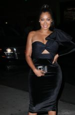 LALA ANTHONY Arrives at Night of Stars Gala in New York 10/26/2017