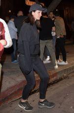 LANA DEL REY Leaves Verlaine in Los Angeles 10/09/2017
