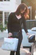 LANA DEL REY Out and About in Hollywood 10/20/2017