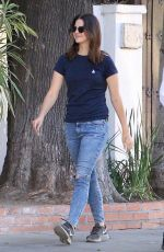 LANA DEL REY Out for Lunch at Little Door in Hollywood 10/04/2017